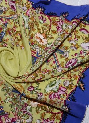 Красочный шелковый платок от rbc creation brauchbar (швейцария)