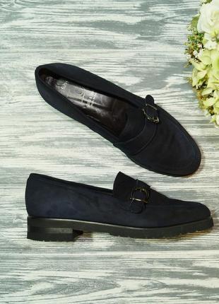 🌿39🌿fatte & mano. италия. замша. стильные туфли лоферы на легкой платформе