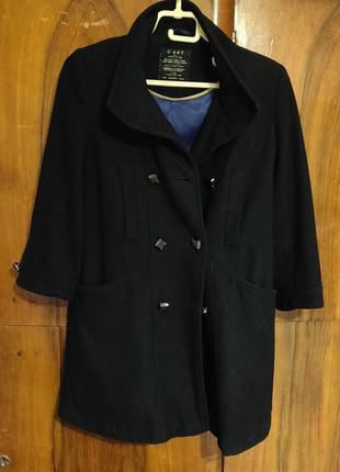 Шерстянное пальто river island xs