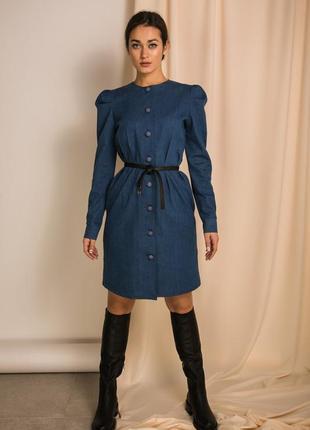 Стильное джинсовое платье 😍