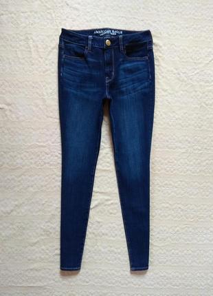 Стильные джинсы скинни с высокой талией american eagle, 8 pазмер.
