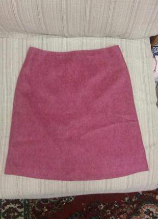 Красивая яркая юбка из тонкого драпа