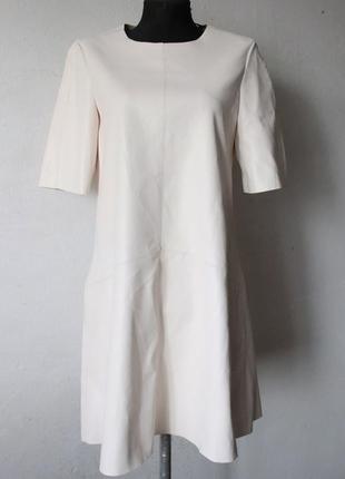 Платье эко кожа zara