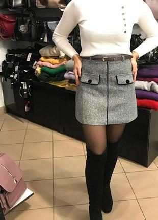 Топовая юбка на осень зиму