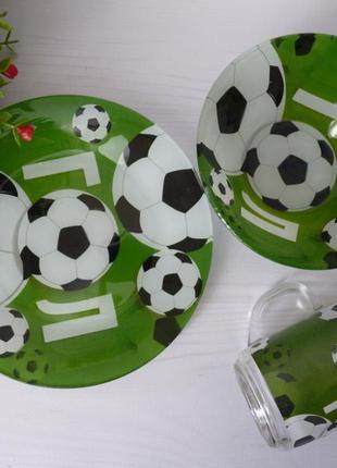 Набор детской посуды  футбол