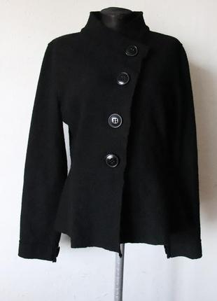Пиджак из валяной шерсти taviani с баской