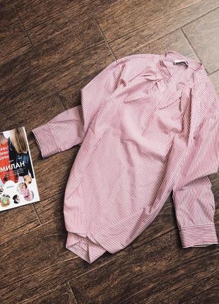 Очень красивая и стильная полосатая блуза известного бренда