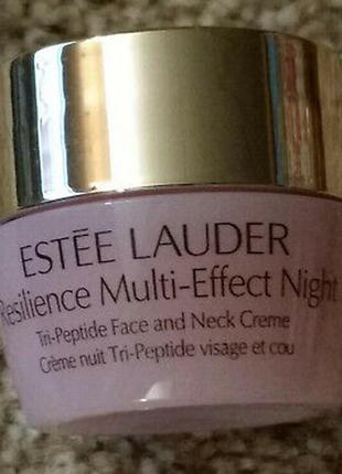 Ночной лифтинговый крем estee lauder resilience multi effect night 7 мл