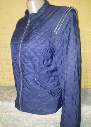 Красивая,стеганная  куртка от 2 biz ➤ 38/м