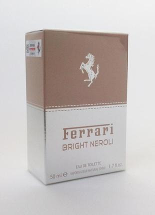 Ferrari bright neroli 50 мл туалетная вода для мужчин оригинал