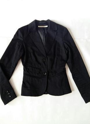 Пиджак черный классический jennyfer