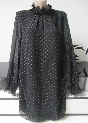 Шикарнейшее шифоновое платье h&m.