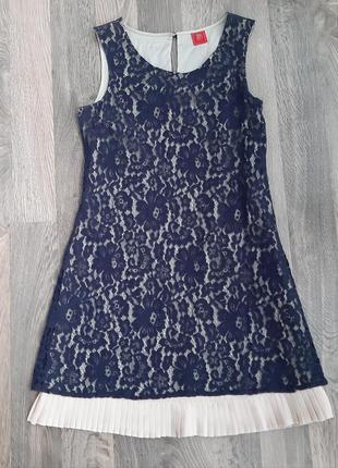 Нежное ажурное платье