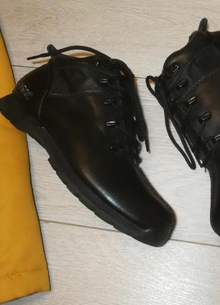Кожаные ботинки kangol