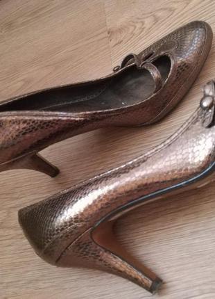 Бронзовые туфельки