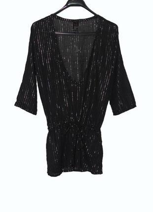 Невесомая легкая блуза/туника s/m