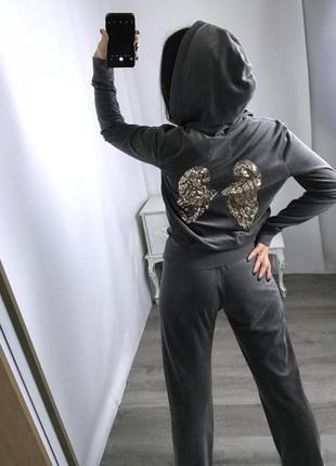💎victoria's secret💎 велюровый костюмчик