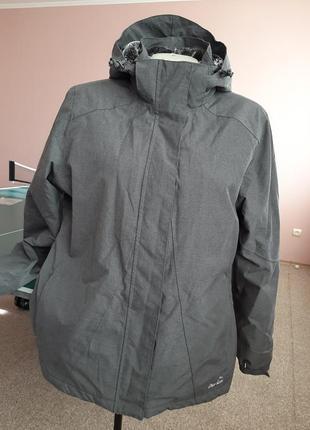 Теплая зимняя спортивная куртка 48-50р
