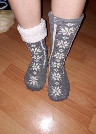 Теплі носки гуцульський стиль