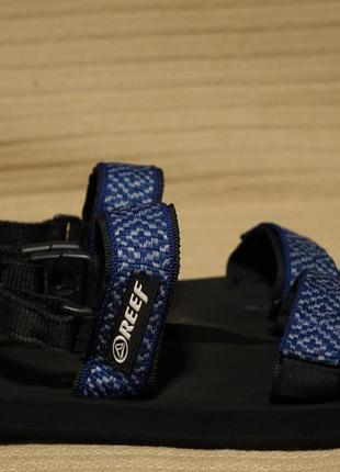 Комфортные текстильные регулируемые спортивные сандалии reef сша  38 р