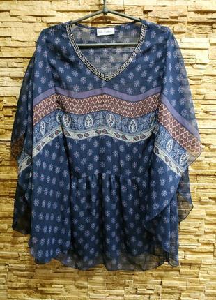 Очень красивая блузка ,туника в бохо стиле от ulla popken