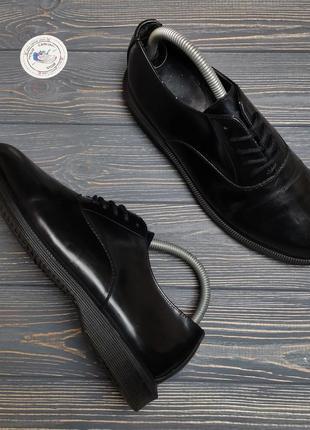 Кожаные туфли dr. martens bennett оригинал!