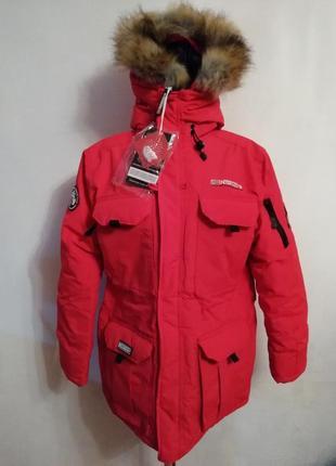 Тёплая куртка парка geographical norway expeditionteam. оригинал.