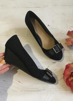 Комфортные туфли на платформе/37р