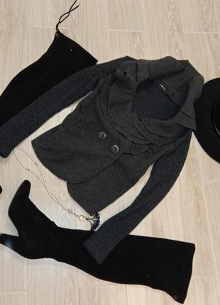 Пиджак-теплая кофта