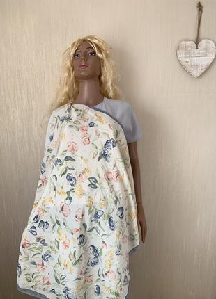 Нежная женственность шелковый платок шелк натуральный 100% fashion affairs
