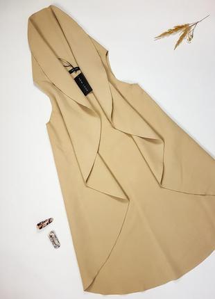 Теплий жилет кольору кемел new look