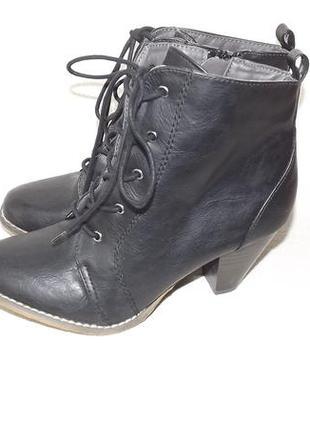 Ботинки ботильоны деми на шнурках casual 38 размер