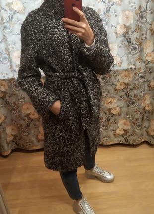 Стильное базовое пальто халат от украинског бренда mr 520.