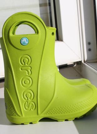 Очень легкие резиновые сапоги crocs 24 \ c7 размер оригинал