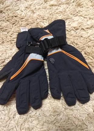Зимние перчатки для мальчика 5-7лет