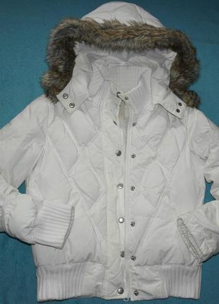 Скидка next пуховик зима дутая куртка женская стеганая теплая