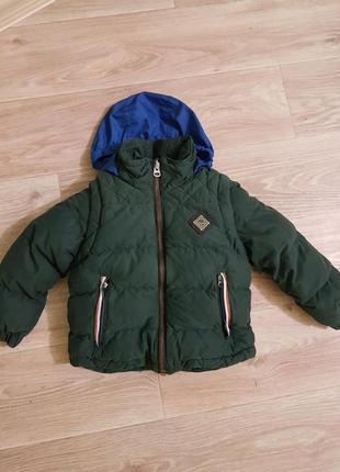 Зимняя курточка пуховик timberland