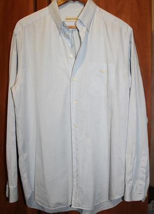 Классическая хлопковая рубашка армани недорого распродажа