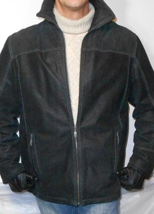 Кожаная куртка chevirex. германия.58р.