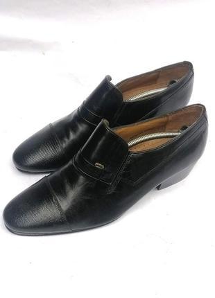Pierre cardin туфли, лоферы из натуральной кожи, большой размер