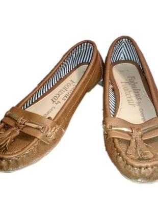 Коричневые туфли george