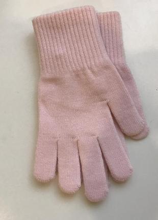 Перчатки hm на 8-12 лет