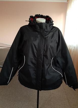 Утепленная спортивная куртка 48-50р