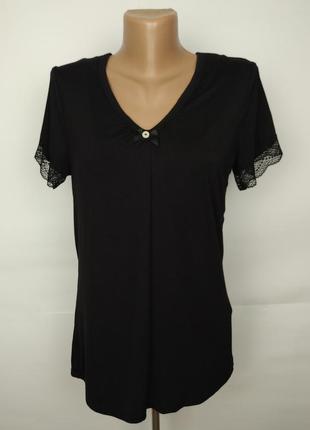 Блуза кружевная красивая с топом внутри gorgeous uk 10/38/s