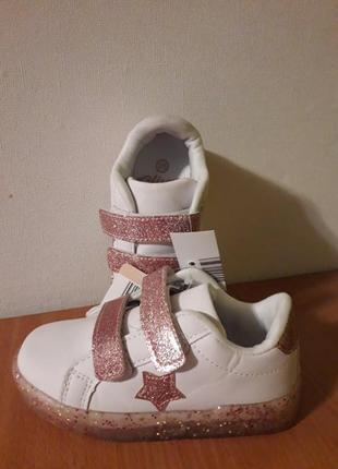 Светящиеся кроссовки alive