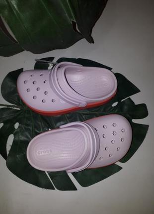 Сабо клоги crocs crocsbsnd platform2 фото