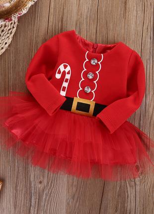 Новогоднее платье - туника