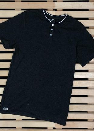 Шикарная мужская футболка lacoste размер м