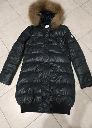 Пуховик в стиле moncler  пуховое пальто