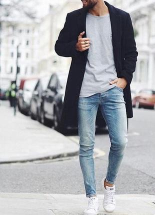 Зауженные джинсы, zara men.